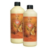 House & Garden Soil A & B - these soil nutrients work great for growing cannabis, in fact they were even tested on real cannabis plants!